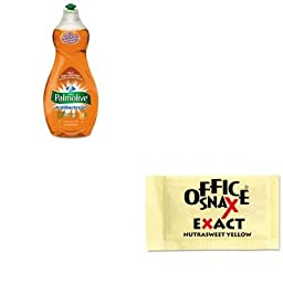 KITCPM46113EAOFX00062 - Value Kit - Office Snax Nutrasweet Yellow Sweetener (OFX00062) and Ultra Palmolive Antibacterial Dishwashing Liquid (CPM46113EA)