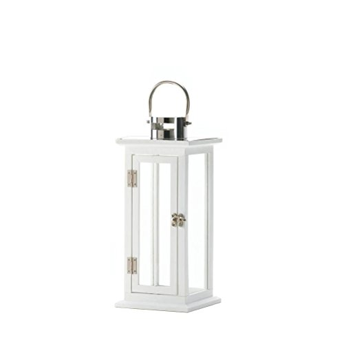 Chongfu NEW Classic Modern Highland Wooden Stainless Steel Medium Candle Holder Lantern