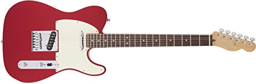 Fender American Deluxe Telecaster, RW, Candy Apple Red (Fender American Telecaster Deluxe compare prices)