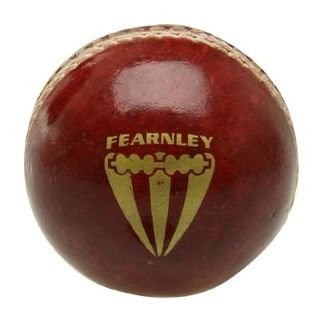Duncan Fearnley Cricket Ball Red Junior