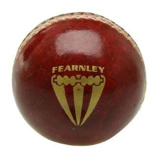 Duncan Fearnley Cricket Ball Red Junior