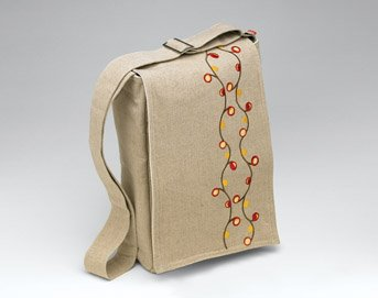 O.R.E. Originals Organic Skinny Bag- Berry Vines