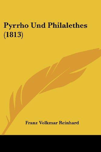 Pyrrho Und Philalethes (1813)