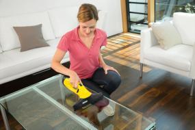 k rcher fensterreiniger wv 2 plus gelb fensterputzer fenstersauger fenster neu ebay. Black Bedroom Furniture Sets. Home Design Ideas
