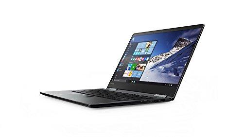 "Lenovo Yoga 710-14ISK Ordinateur portable hybride tactile 14"" FHD Noir (Intel Core i7, 8 Go de RAM, 256 Go SSD, Nvidia GeForce G940MX, Windows 10)"