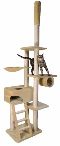 Trixie 43931 Zaragoza Scratching Post 220 - 260 cm Beige