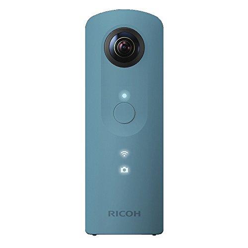 RICOH デジタルカメラ RICOH THETA SC (ブルー) 360°全天球イメージ撮影デバイス 910743