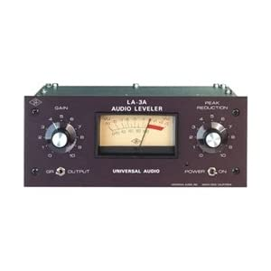 Universal Audio LA-3A Classic Optical Audio Leveler/Compressor,Universal Audio,LA3A,UNAU-LA3A