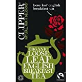 THREE PACKS of Clipper Organic English Breakfast Tea 125g