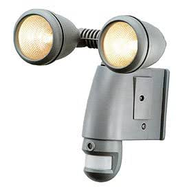 SmartGuard Motion Sensor Halogen Twin Light with Built-in Camera, 1g Sd Card Included