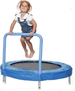 "Bazoongi 48"" Bouncer Trampoline with Handle Bar by Bazoongi Kids"