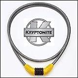 KRYPTONITE COMBINATION CABLE BIKE LOCK 152cm LONG