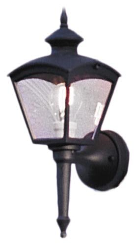 Konstsmide-Cassiopeia-480-750-Wandleuchte-B-16cm-T-20cm-H-43cm-1x60W-IP23-lackiertes-Aluminium-matt-schwarz