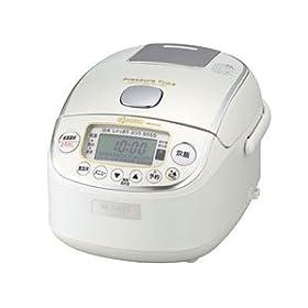 ZOJIRUSHI 真空圧力IH炊飯ジャー極め炊き NP-RS05-WP プライムホワイト