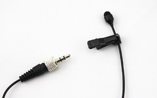 Pro Lavalier Lapel Microphone JK MIC-J 044 for Sennheiser Wireless Transmitter - Omnidirectional Condenser Mic