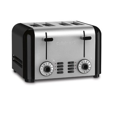 4-Slice Steel Hybrid Toaster (Cusinart Compact Toaster Oven compare prices)