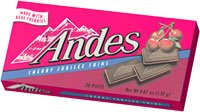 Andes Cherry Jubilee- 1 box (28 Pieces)