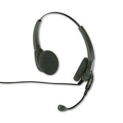Plantronics H101N - Encore Binaural Over-The-Head Telephone Headset W/Noise Canceling Mic