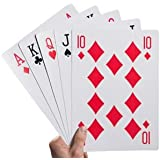 "Kovot Super Jumbo Playing Cards (Humungous 8-1/4"" x 11-3/4"" cards)"