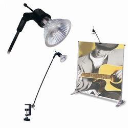 Banner Stand Light with C-Clamp (50 Watt)