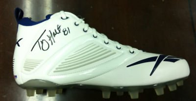 Torry Holt Signed Game Football Shoe Cleat PSA DNA COA - Autographed NFL Cleats