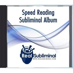 Speed Reading Subliminal CD
