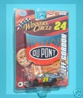 Jeff Gordon #24 Dupont Flames Car of Tomorrow 1/24th Hood with 1/64th Car Winners Circle - 1