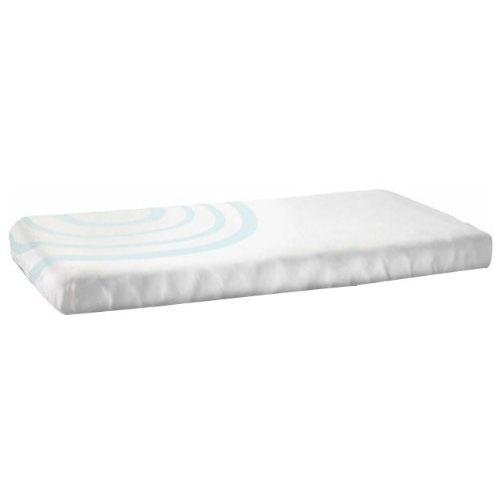Organic Fitted Ripple Crib Sheet Color: Sea Glass Blue - 1