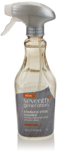 Seventh Generation Stainless Steel Cleaner, 18 Fl Oz front-63658