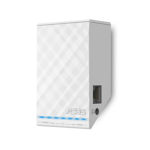 ASUS Dual-Band Wireless-N600 Repeater and Audio Streamer (RP-N53) (Best Wifi Range Extender N600 compare prices)