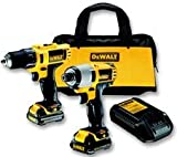 Advanced DEWALT - DCK211S2-GB - DRILL, KIT, 10.8V