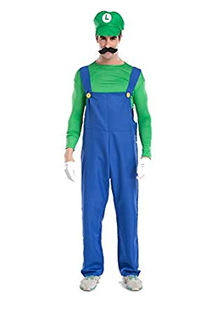 Amazon Blidece Super Mario Brothers Deluxe Luigi