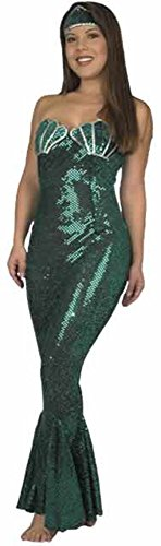 Adult Sequin Mermaid Costume (Size: X-Large 14-16)