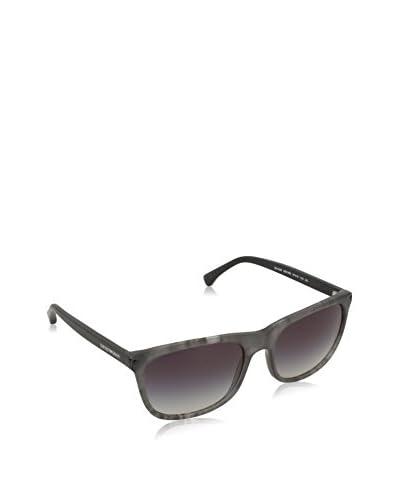 EMPORIO ARMANI Sonnenbrille 4056_55518G MATTE STRIPED GREY WITH GREYGRADIENT LENS