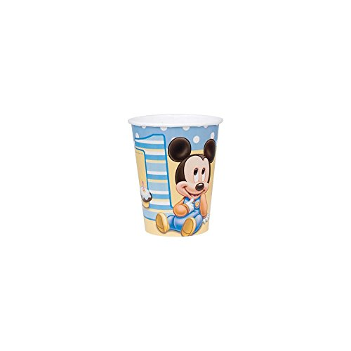 Mickey's First Birthday 9 oz Paper Cups
