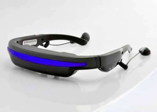 PowerLead Mobile Theatre Video Glasses 52 Inch Virtual Screen