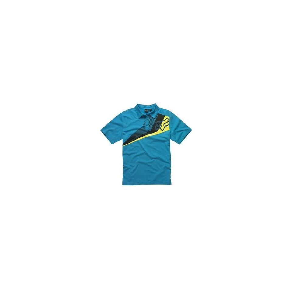 Fox Racing Alliance Polo   Medium/Electric Blue