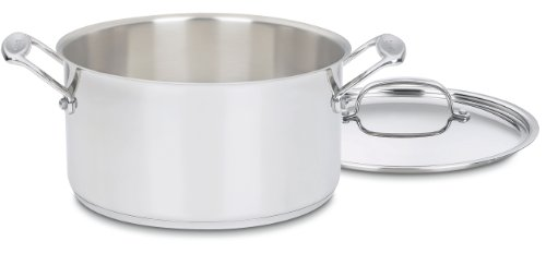 Cuisinart 744-24 Chef's Classic Stainless 6-Quart Sauce Pot with Lid