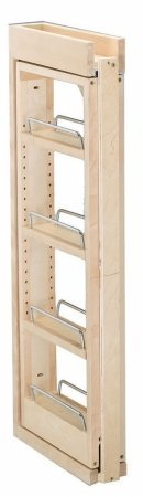 Rev-A-Shelf RS432.WF.3C 3 in. W x 30 in. H Wall Filler Pull Out, Wood