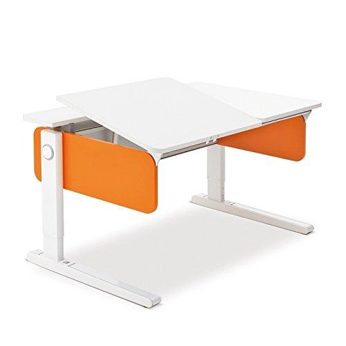 Moll Champion Style Left Up Schreibtisch | orange | 120 x 72 x 53-82 cm (Breite x Tiefe x Höhe) | höhenverstellbar günstig
