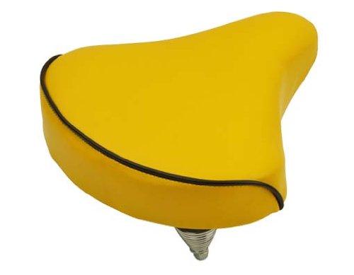 Beach Cruisers Saddle 209 Yellow. Bike Seat, Bicycle Seat, Bike Part, Bicycle Part, Beach Cruiser Seat, Chopper Fixie, Road, Mountain Bike Seat front-834245