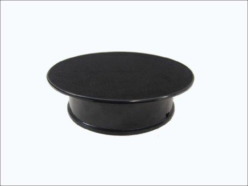 Black Velvet Top Motorized Rotating Display Turntable