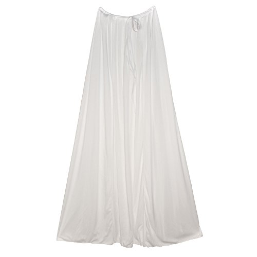 "SeasonsTrading 48"" White Cape ~ Halloween Costume Accessory"