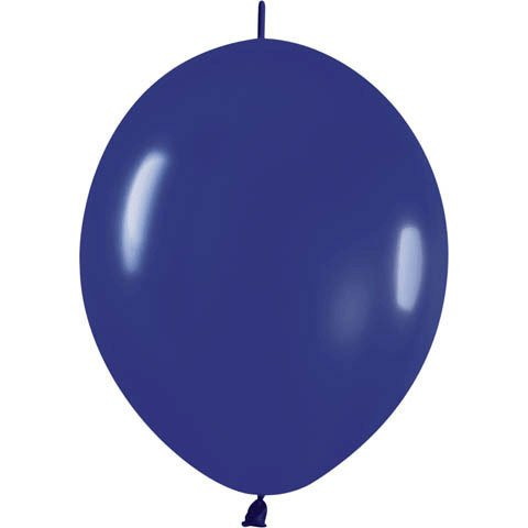 "Betallatex 12"" Fashion Royal Blue Link-O-Loon Latex Balloons (10ct)"