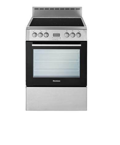 Blomberg BERU24100SS 24W Electric Convection Range, SS/Black