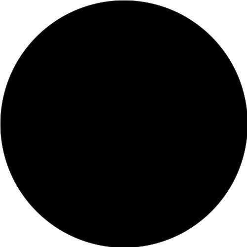 Brewster WPD90233 Wall Pops Black Jack Dot, Set of 5 Stickers