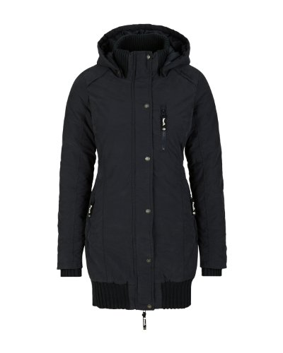 Bench Damen Parka Razzer C, black,