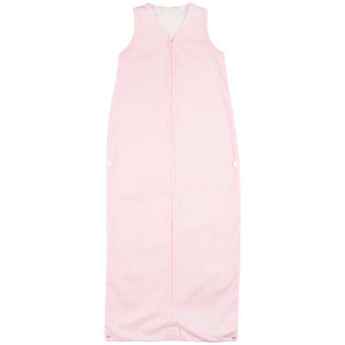 JoJo Maman Bebe Toddler Sheet Sleeping Bag, Pink Polka Dot