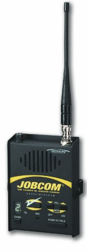 Ritron Jbs-446D Base-Station Wireless Intercom, 2-Mile Range, 2W Power Output, 10 Channel, Uhf 450-470 Mhz Frequency, 110 Vac Or 12 Vdc Operation