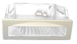 LG Electronics 3391JJ2012C Refrigerator Vegetable Crisper Drawer, Clear with White Trim by LG Electronics